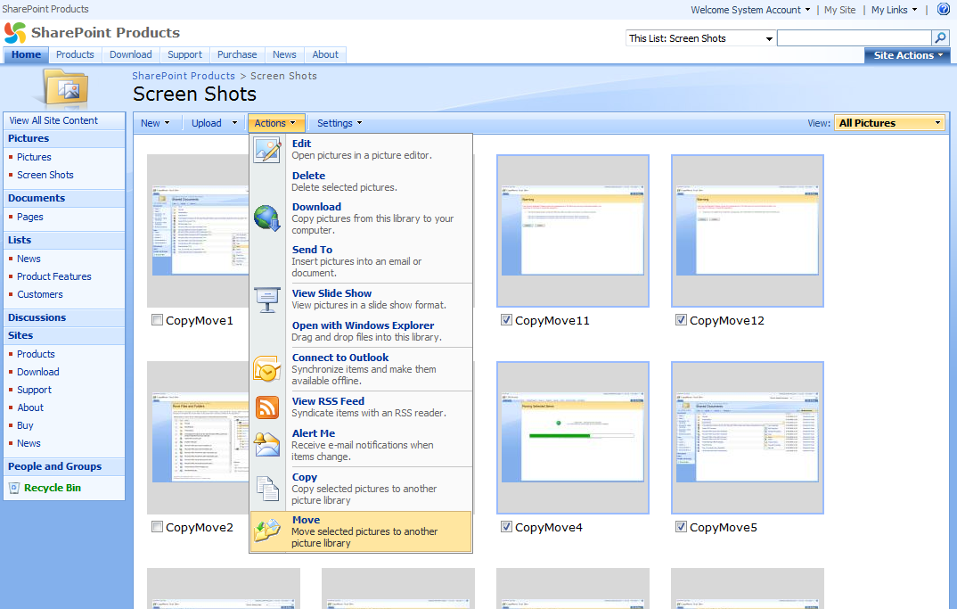 sharepoint 2007 site templates - blog archives designfilecloud