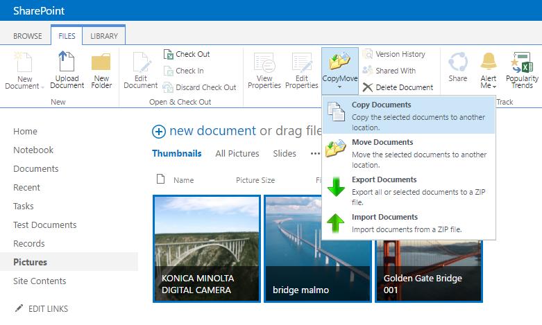 CopyMove for SharePoint 2013